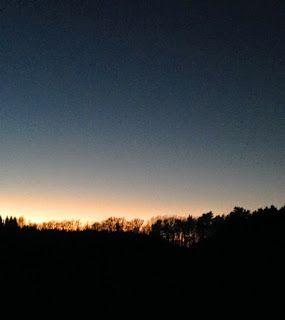 naturensdronning: Frisk kveldstur