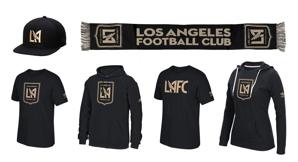 newest 8a096 686aa Reviewed: New Logo and Identity for Los Angeles Football ...
