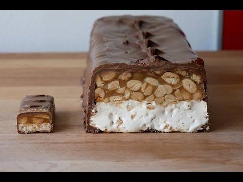 Giant Snickers Bar (Recipe) || [ENG SUBS]