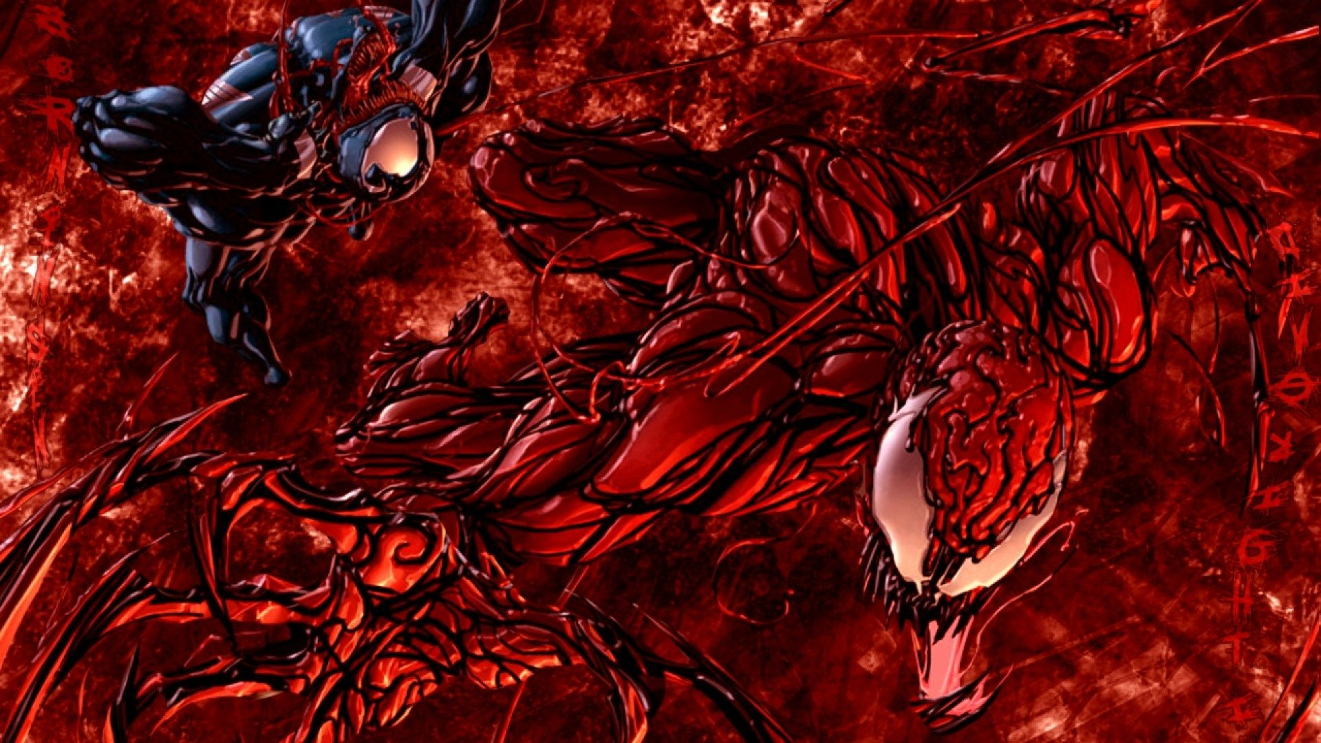 Widescreen Carnage Carnage Marvel Carnage Creative Graphics