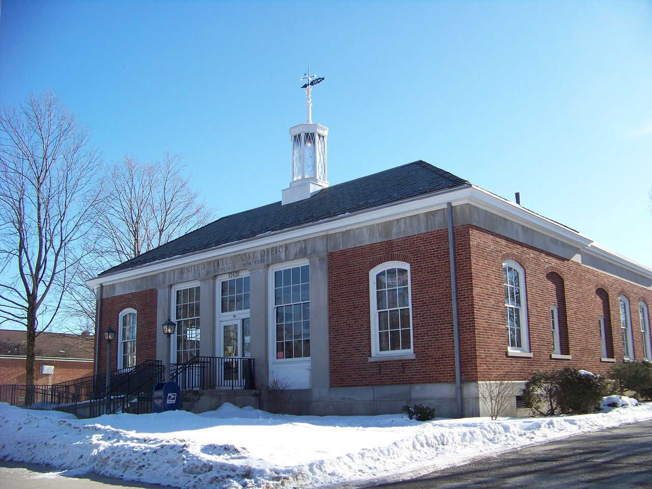 Us Post Office Richfield Springs In Otsego County New York