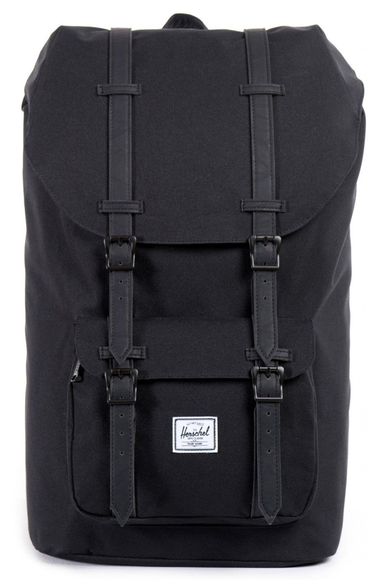1375b25b4382 Herschel Little America Backpack 600D Poly Black Black