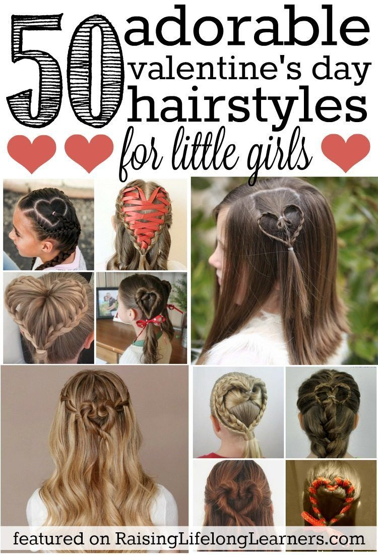 adorable valentineus day hairstyles for girls girl hairstyles