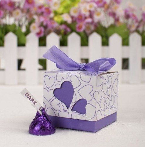 Square Gift Boxes Candy Box Jewelry Gift boxes  Paper Boxes Gift Wrap 10pcs/lot