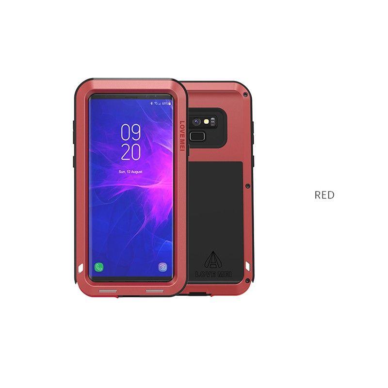 Love Mei Samsung Galaxy Note 9 Stossfest Fall Metallstosskasten Sports Full Cover Staub Schnee Wasserdicht Samsung Galaxy S10 Etui Coque Cases In 2019 Samsung Galaxy Galaxy Phone Samsung