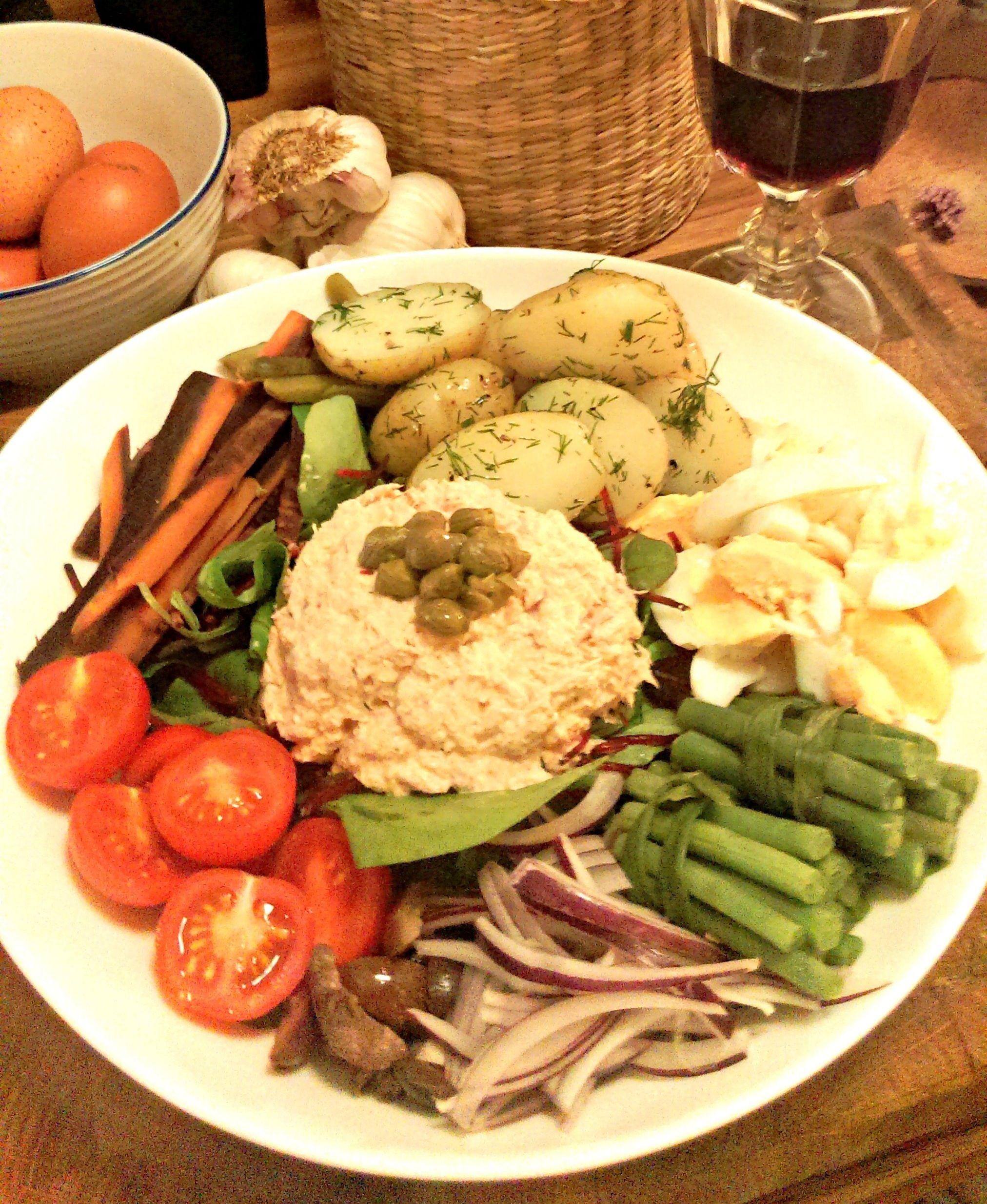 An Autumnal Salade Nicoise Recipes Nicoise Nicoise Salad