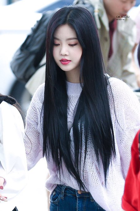 Soojin Picsさん Soojinpic Twitter Kpop Hair Korean Hairstyle Girls With Black Hair