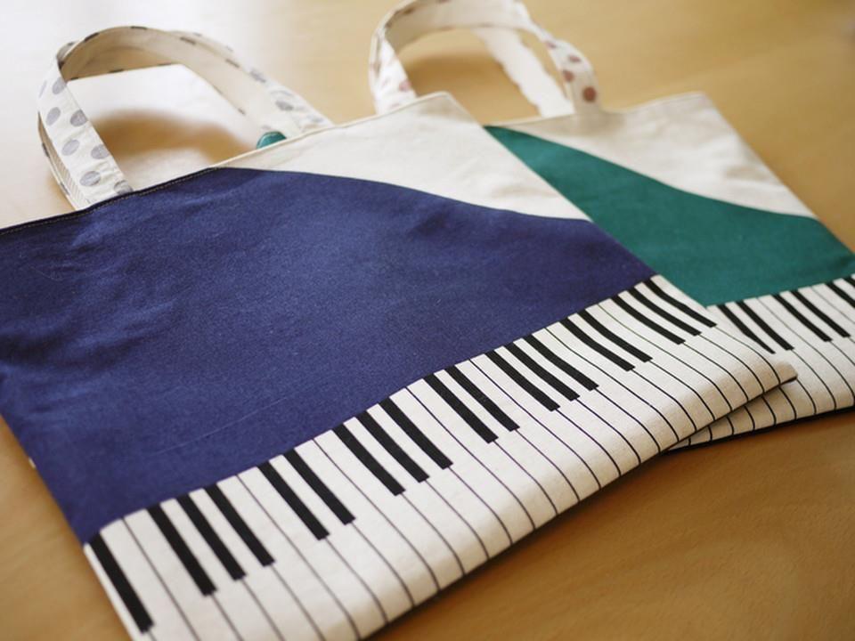 ピアノ鍵盤バッグ  http://nekorobe.com/?pid=55127451