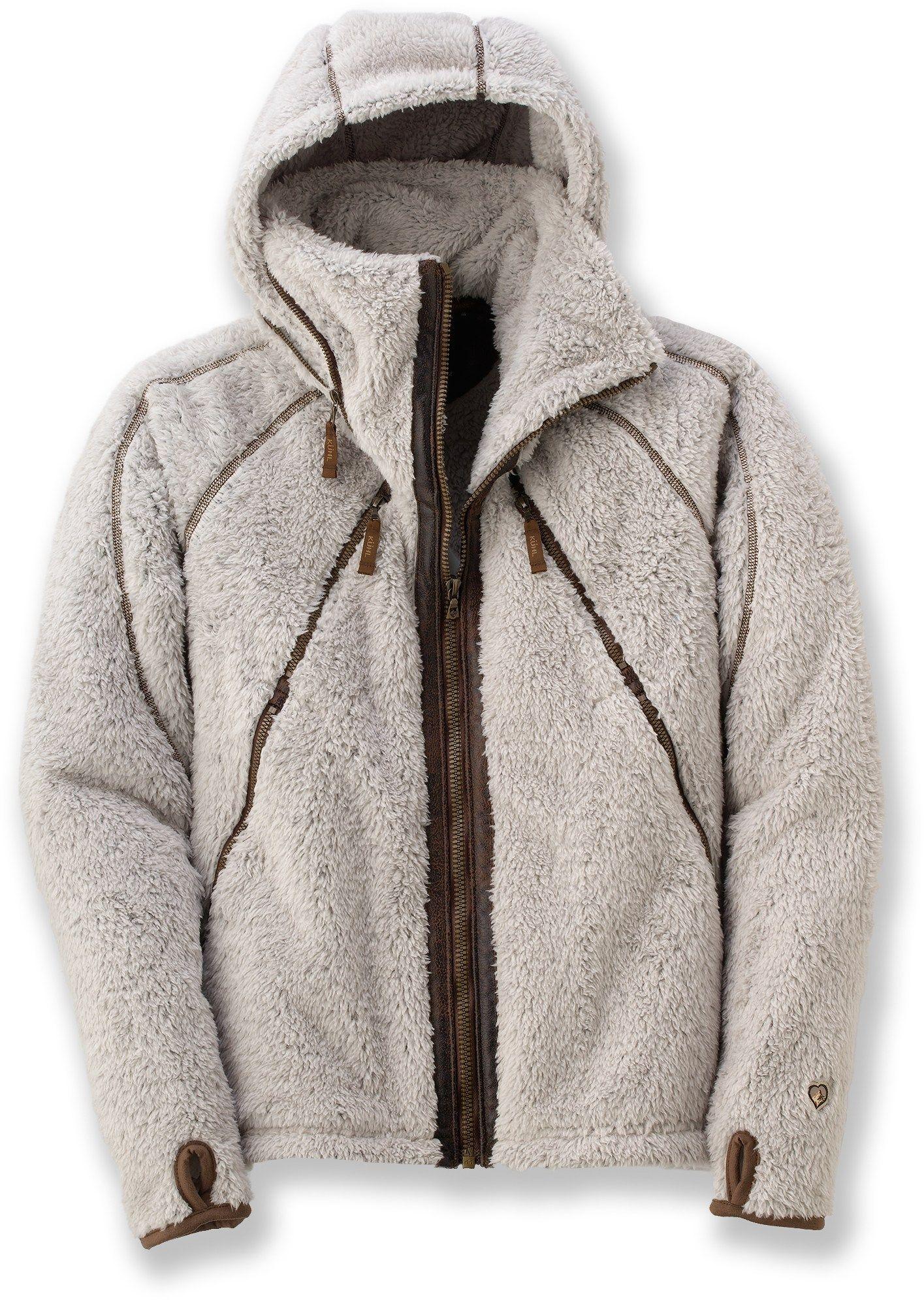 KUHL Women's Flight Fleece Jacket Stone XL | Free shipping, Ships ...