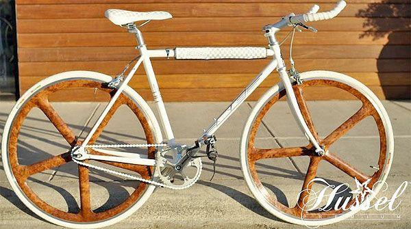 Wood Grain Aerospoke Wheels. Oh yeah