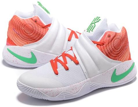 6d49684a5bcb Nike Kyrie 2 MVP Mens Basketball Shoes White orange2