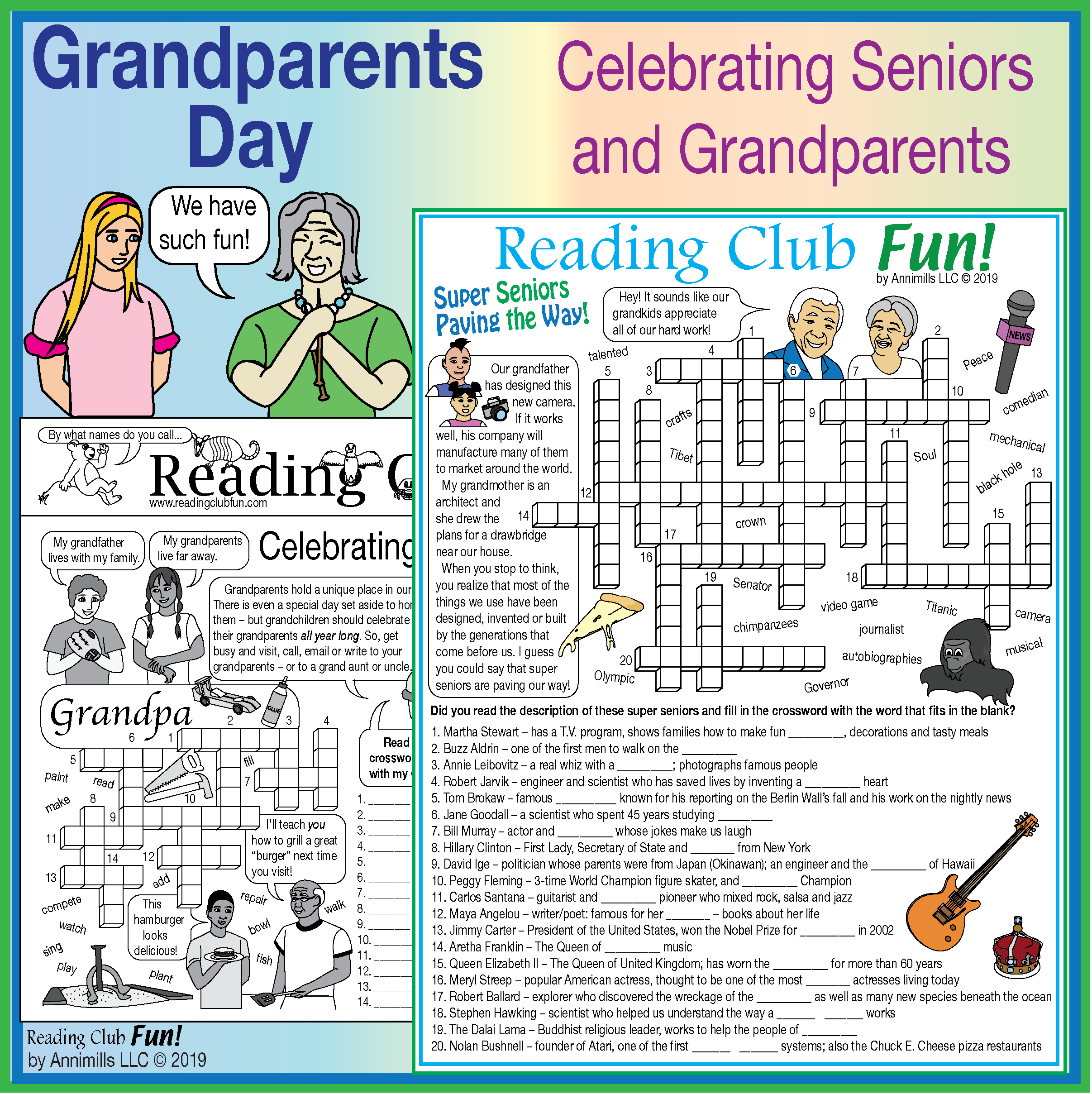 Celebrating Grandparents Grandparents Day Lively