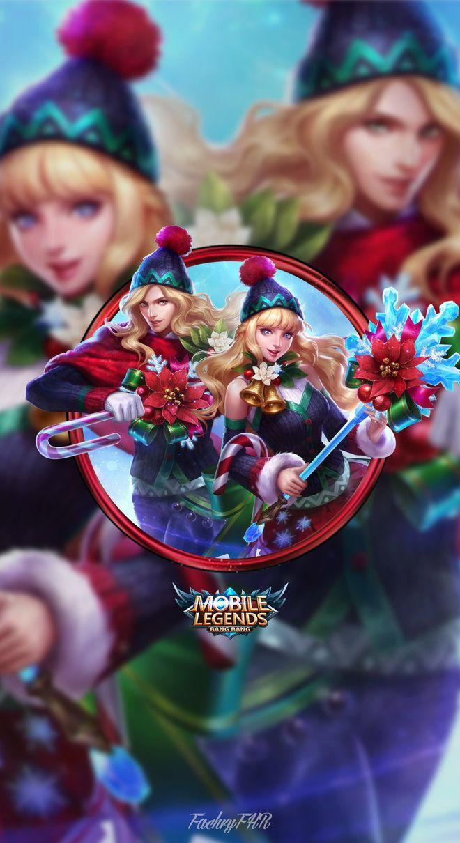 Wallpaper Phone Lancelot And Odette Christmas By Fachrifhr Ml Ring