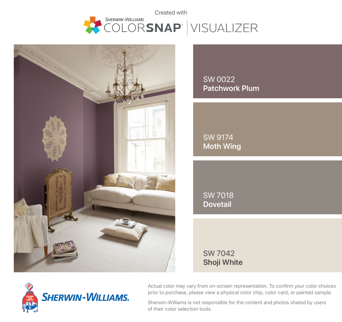 i found these colors with colorsnap visualizer for iphone on home depot paint visualizer id=77354