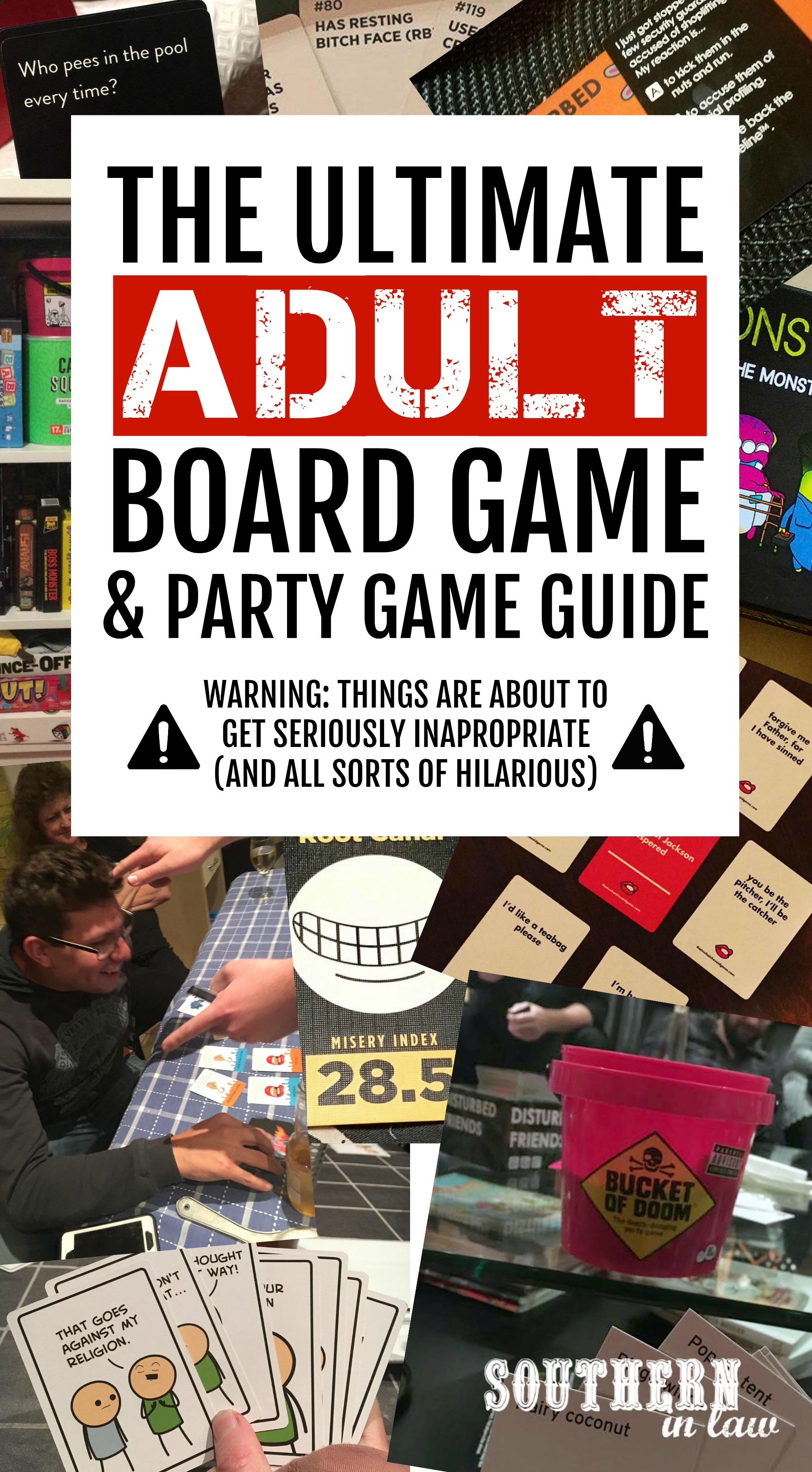 The Ultimate Adult Board Game Guide Birthday games for