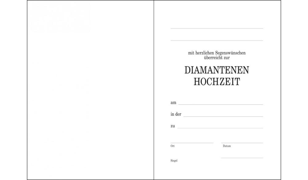 Vorlage Diamantene Hochzeit Thomas Verlag Leipzig Einladungskarten Diamantene Hochzeit Vorlagen Di 2020