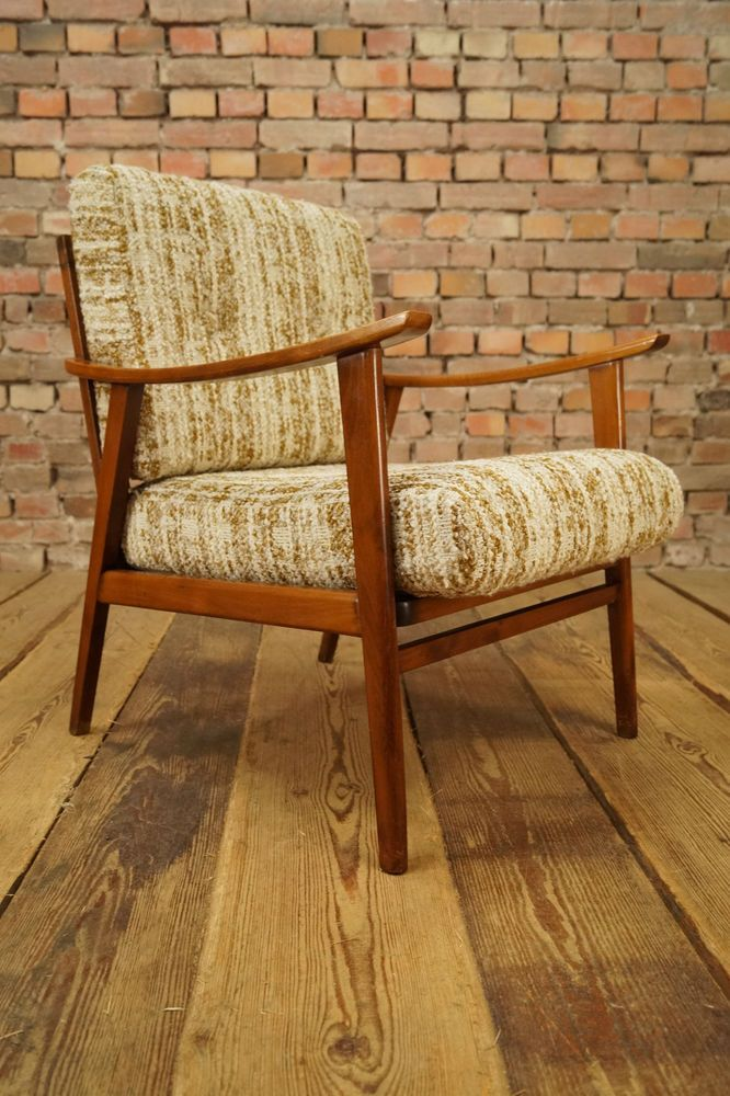 Retro 60s Nice Easy Danish Arm Chair Armchair Mid Century Vintage