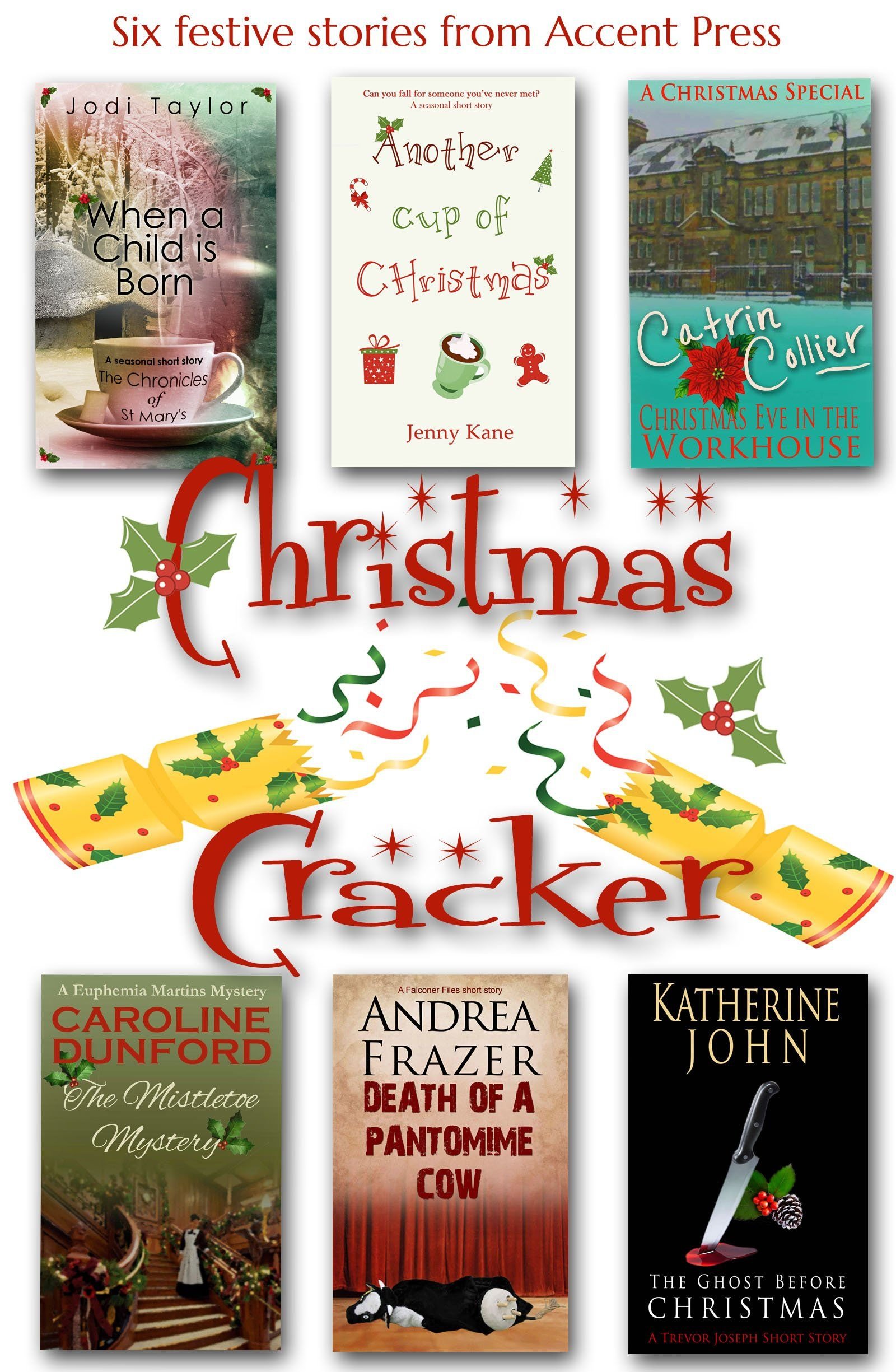 christmas cracker six festive stories from accent pressamazonkindle store
