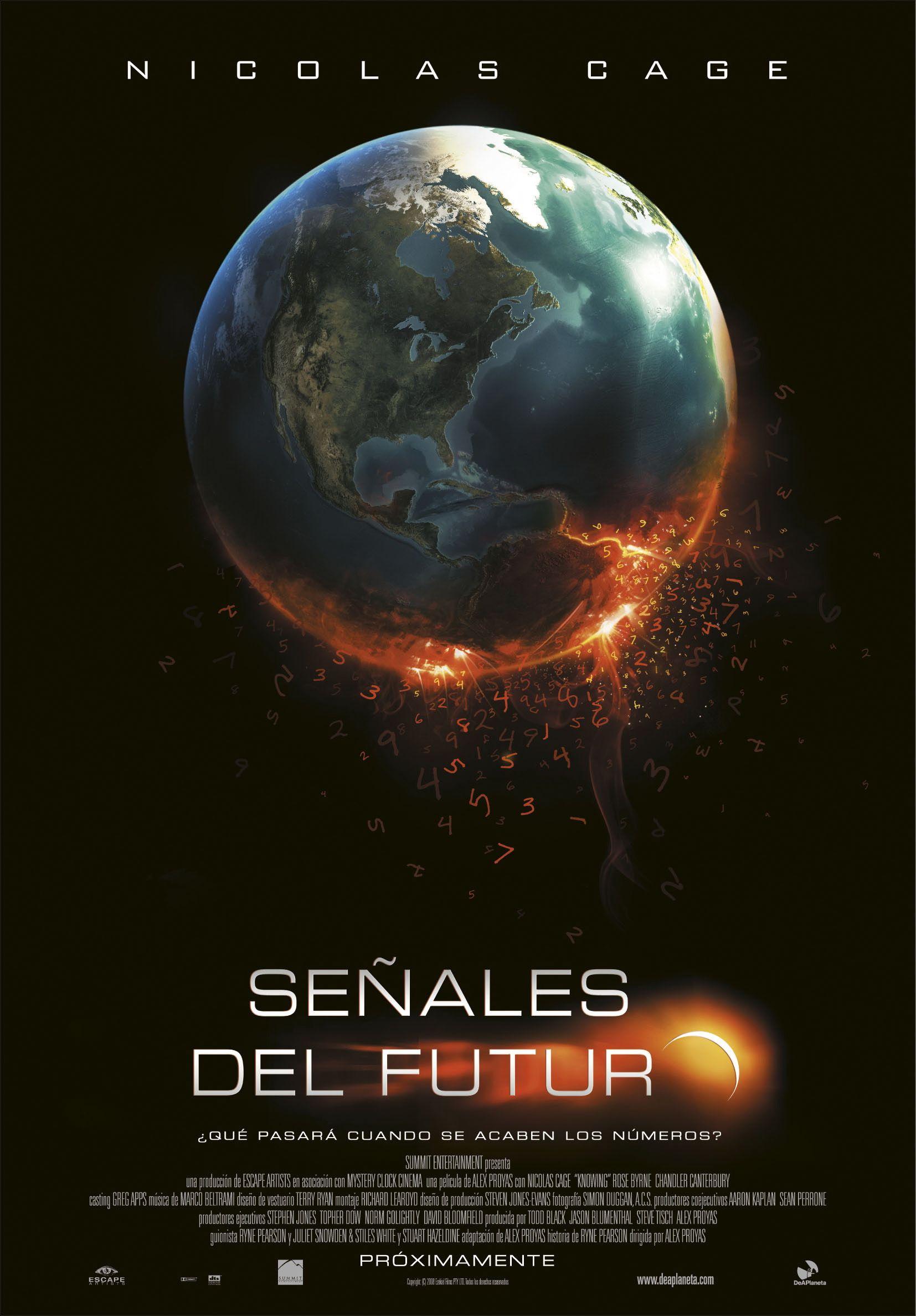 Senales Del Futuro Nicolas Cage Peliculas Peliculas Completas