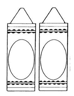 this is an activity to go with the book the crayon box that talked by - Crayon Coloring Sheet