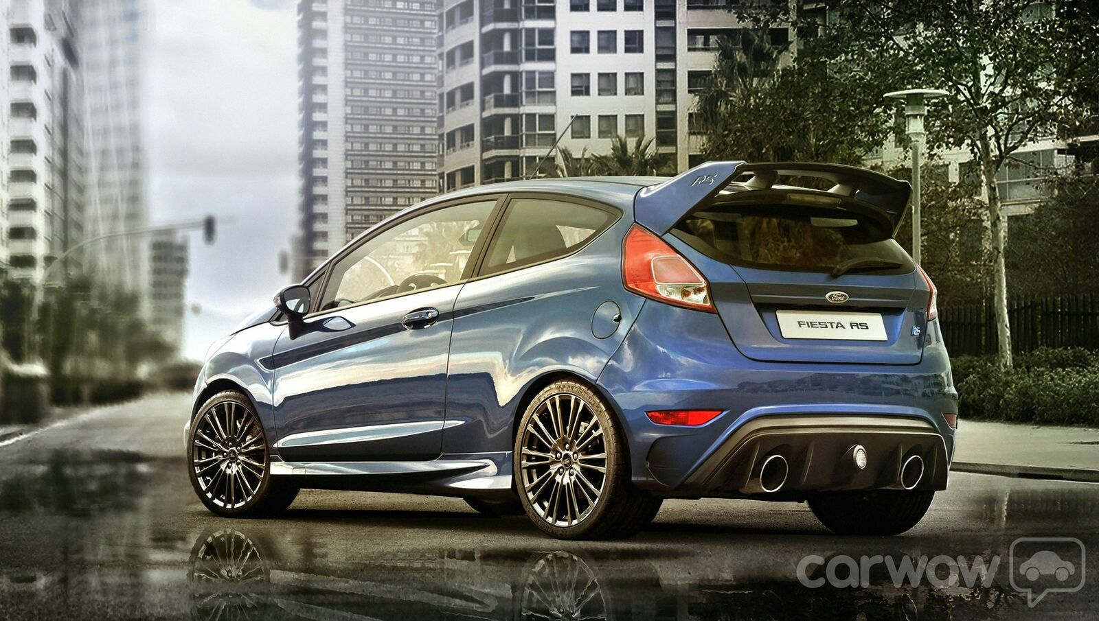 Ford fiesta rs we can only hope this becomes reality ford