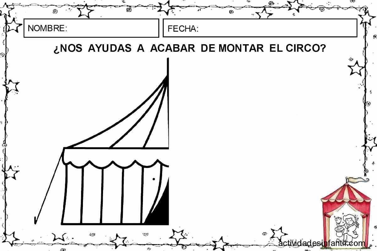 Circ i simetria actividades | El circo | Pinterest | Actividades ...