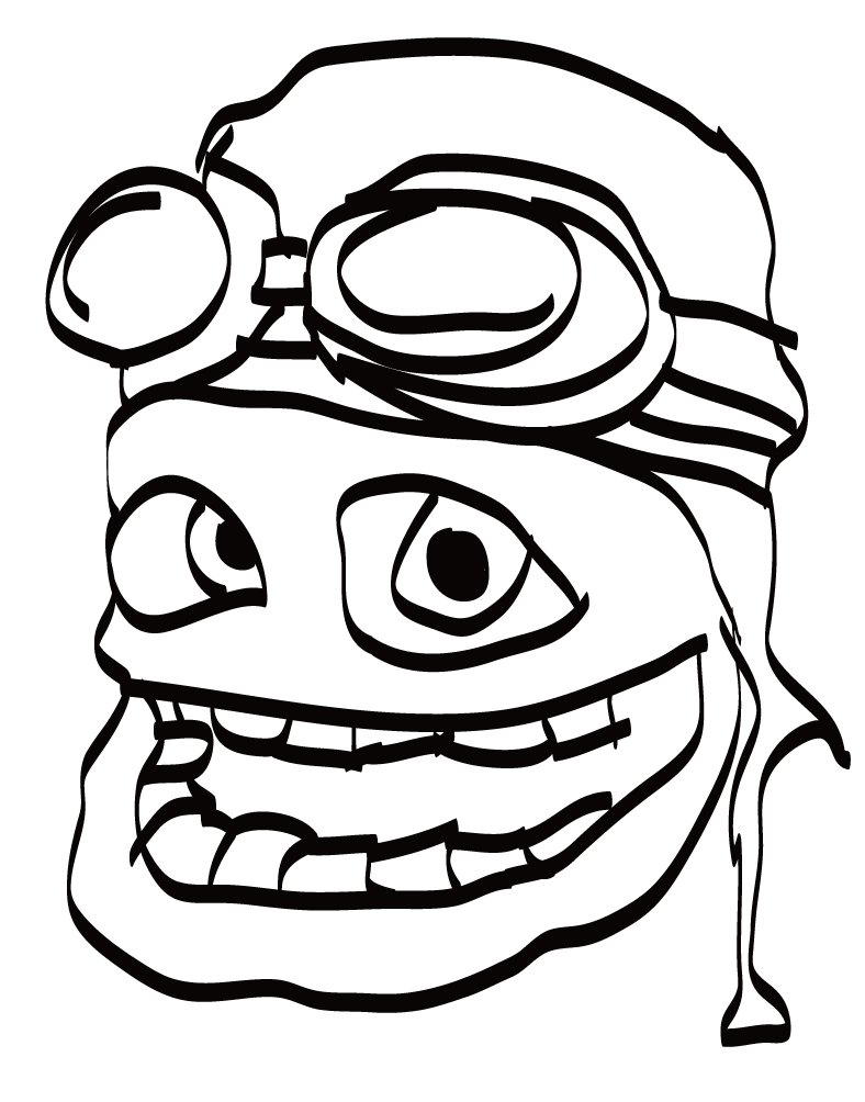 Coloring Crazy Frog Pages 2020 Frog Coloring Pages Coloring Pages Coloring Books