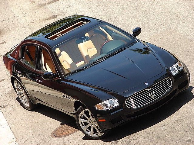 Seriously, This Car Makes My Mouth Water. Maserati Quattroporte Sedan