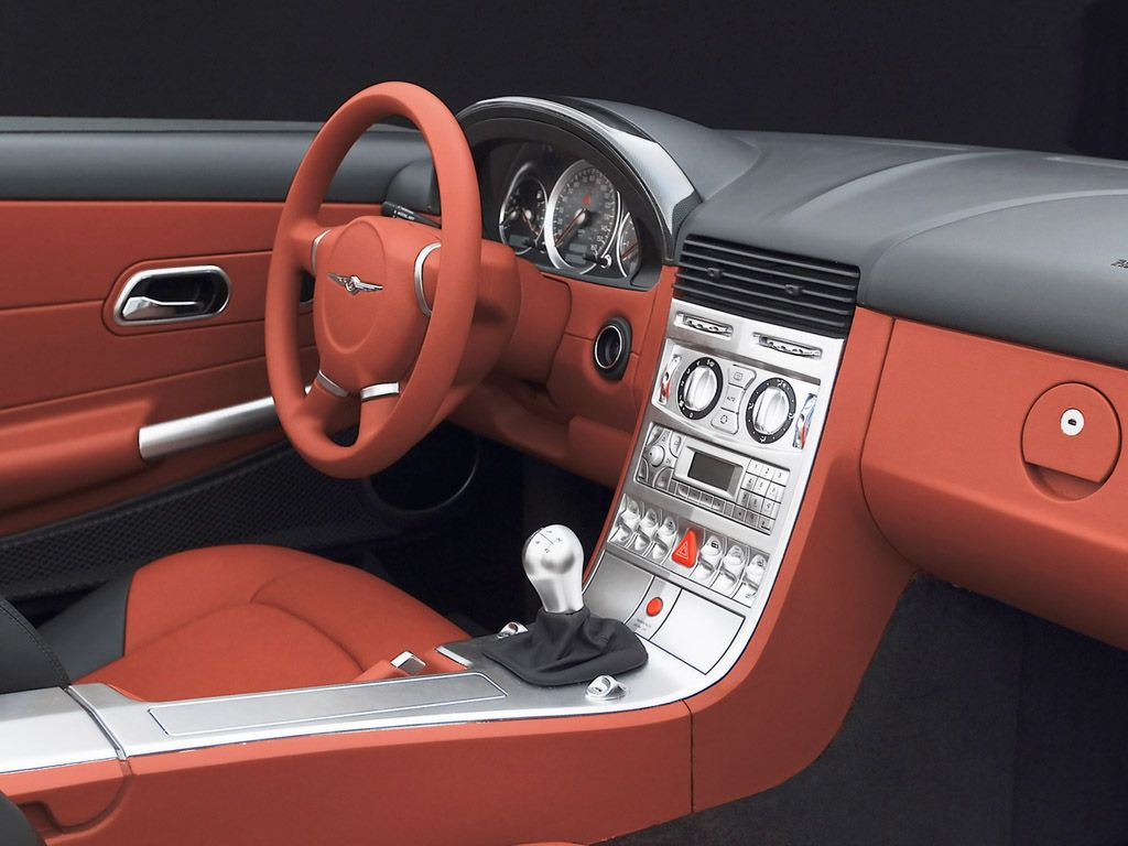 Chrysler Crossfire Interior Dash 1024x768 Wallpaper