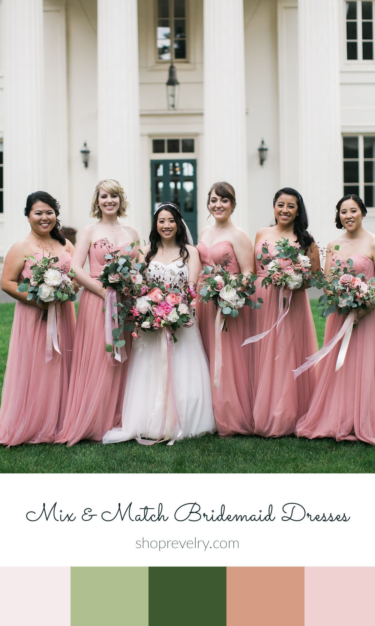 Country wedding mother dresses  See Real Weddings featuring Revelry Bridesmaid dresses and separates