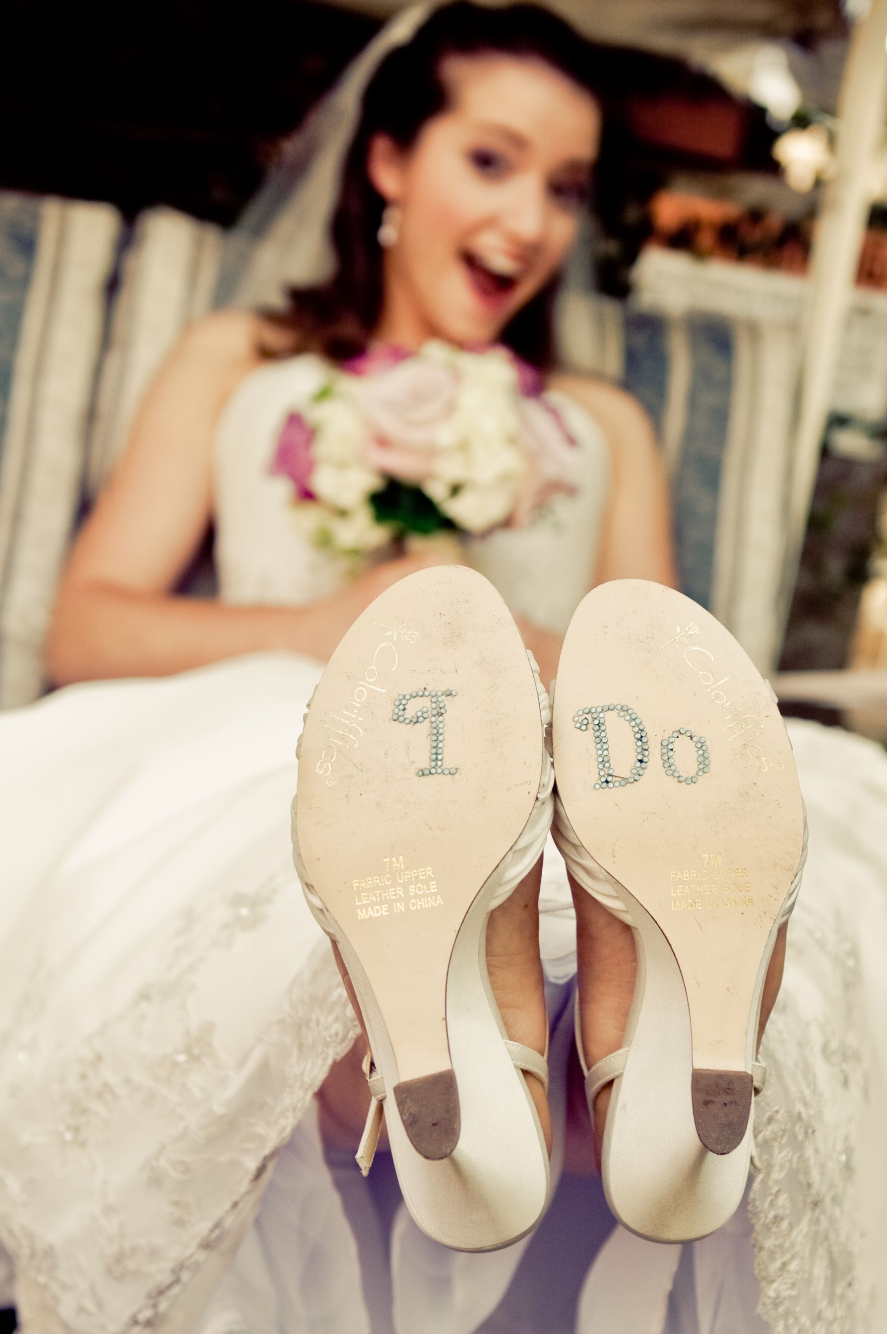 I do wedding shoes for bride.