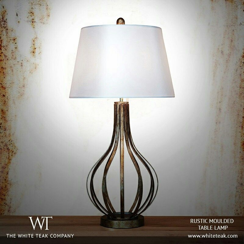 Tie your room together with an enrapturing table lamp from our collection of modern, rustic chic and quirky lamps! Go to https://whiteteak.com/table-lamps and start shopping now! #Lifestyle #InteriorDècor #Dècor #TableLamps #Lighting #WhiteTeak
