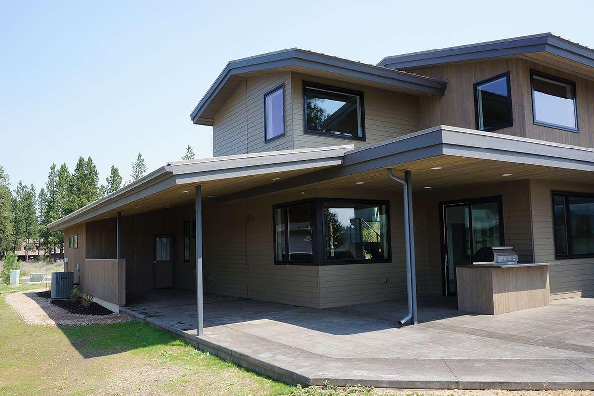 Mid Century Modern House Plan 5829