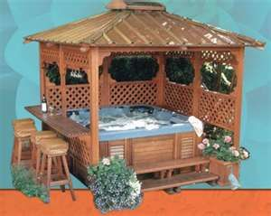 I Want This Gazebo For My Hot Tub For The Home