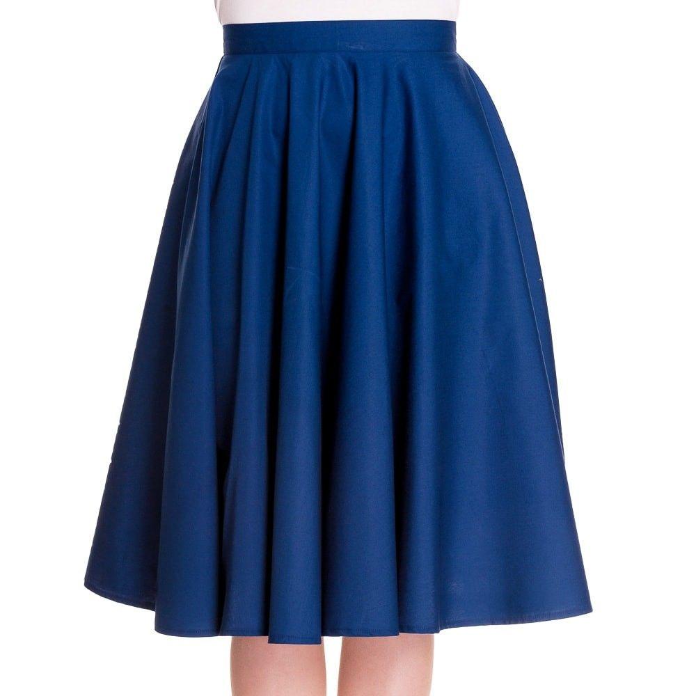915de175e7 Special Order] Hell Bunny Paula 50s Skirt - Navy   Clothing: bottom ...