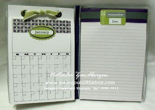 SU DVD case notebook & calendar.