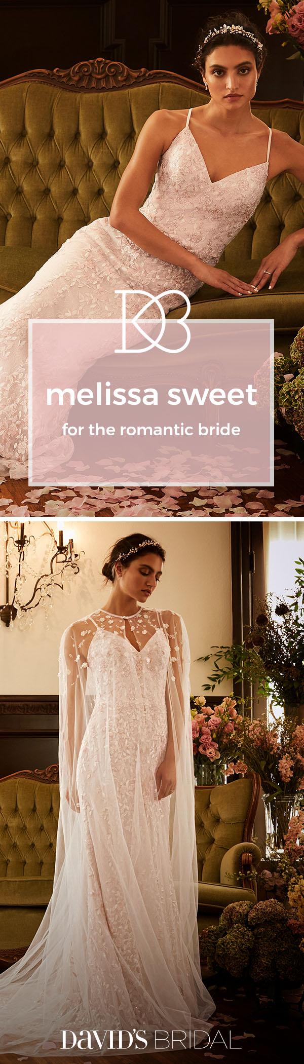 Melissa sweet wedding dresses are vintageinspired poetic and full