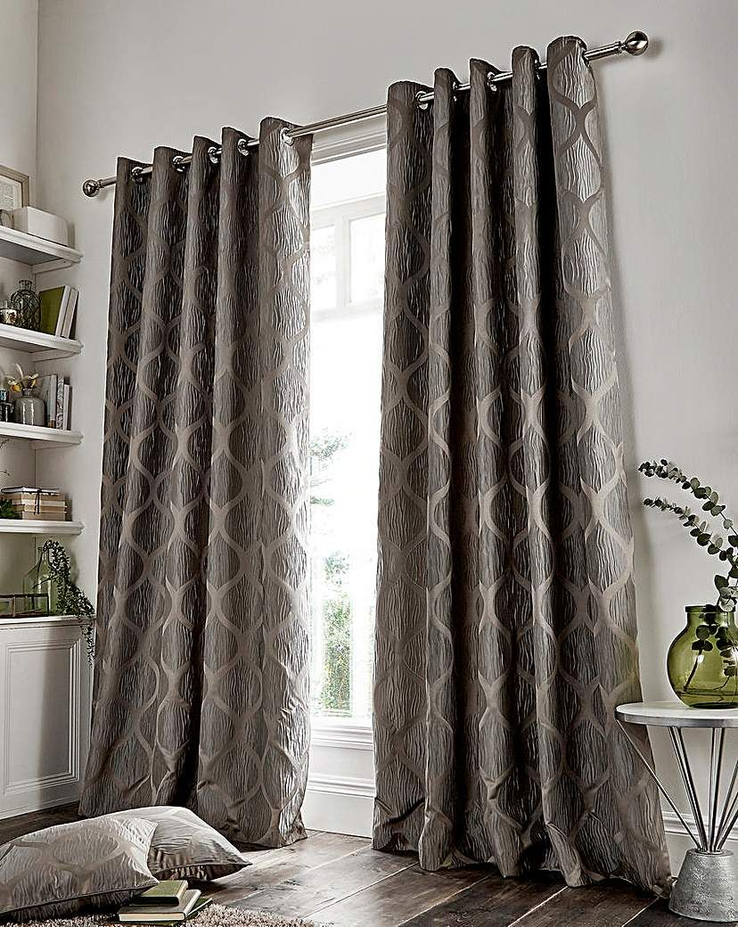 Griffin geo lined eyelet curtains geo and products