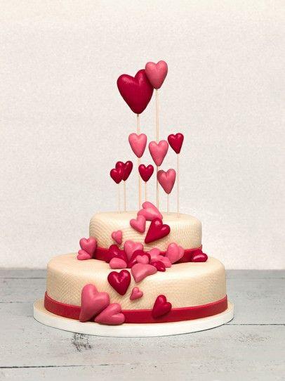 Hochzeitstorte Mit Marzipan Selbst Dekorieren Wedding Cake Cake