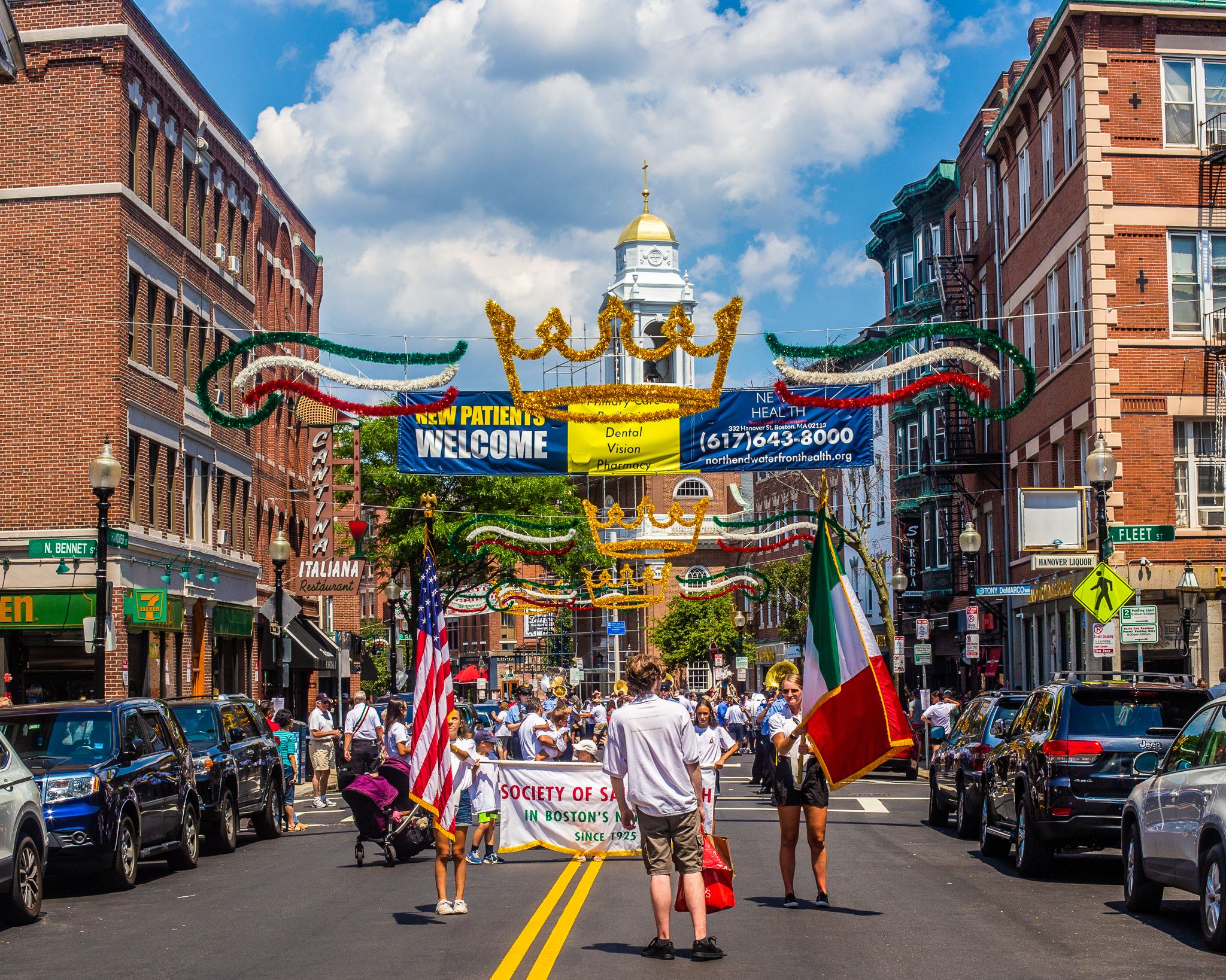 Bostons north end festivals boston north end in boston