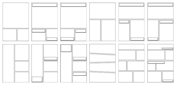 Comic Book Page Template | Our Blank Comic Book Templates Feature 30 Page Layouts And Lots Of