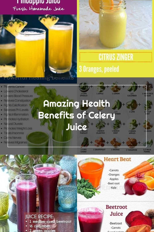 Amazing Health Benefits of Celery Juice in 2020 Celery