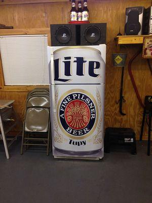 Kegerator Magnet Tool Box Large Miller Lite Beer Can Refrigerator