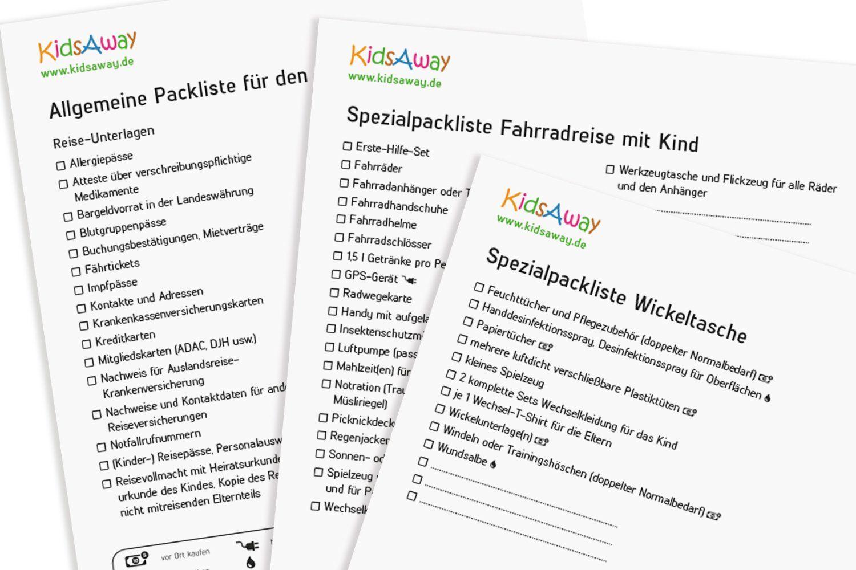 Kostenlose Packlisten Fur Den Urlaub Mit Baby Und Kind C Kidsaway De In 2020 Koffer Packen Liste Packen Packliste Urlaub