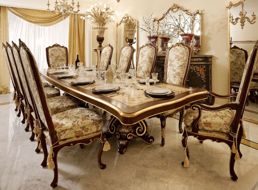 Fanfani Mobili ~ Italian luxury dining room wood furniture. andrea fanfani italy