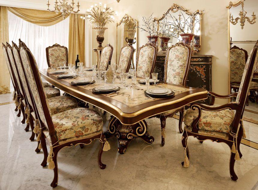 Mobili per il soggiorno classico e di lusso in stile veneziano e ...
