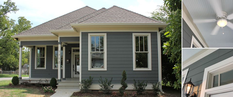 Exterior Paint Colors Blue gray exterior - eggshell blue ceiling. another possibility for