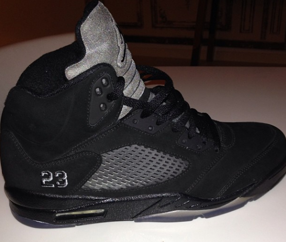 quality design 20cb4 c6ee9 new all black jordan 5s