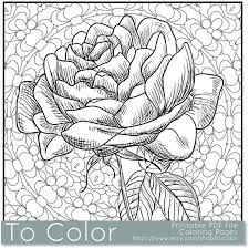 Image Result For Floral Design Color By Number Coloring Pages Adults
