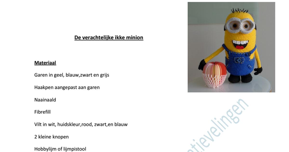De-verachtelijke-ikke-minion (2).pdf | Minions ...